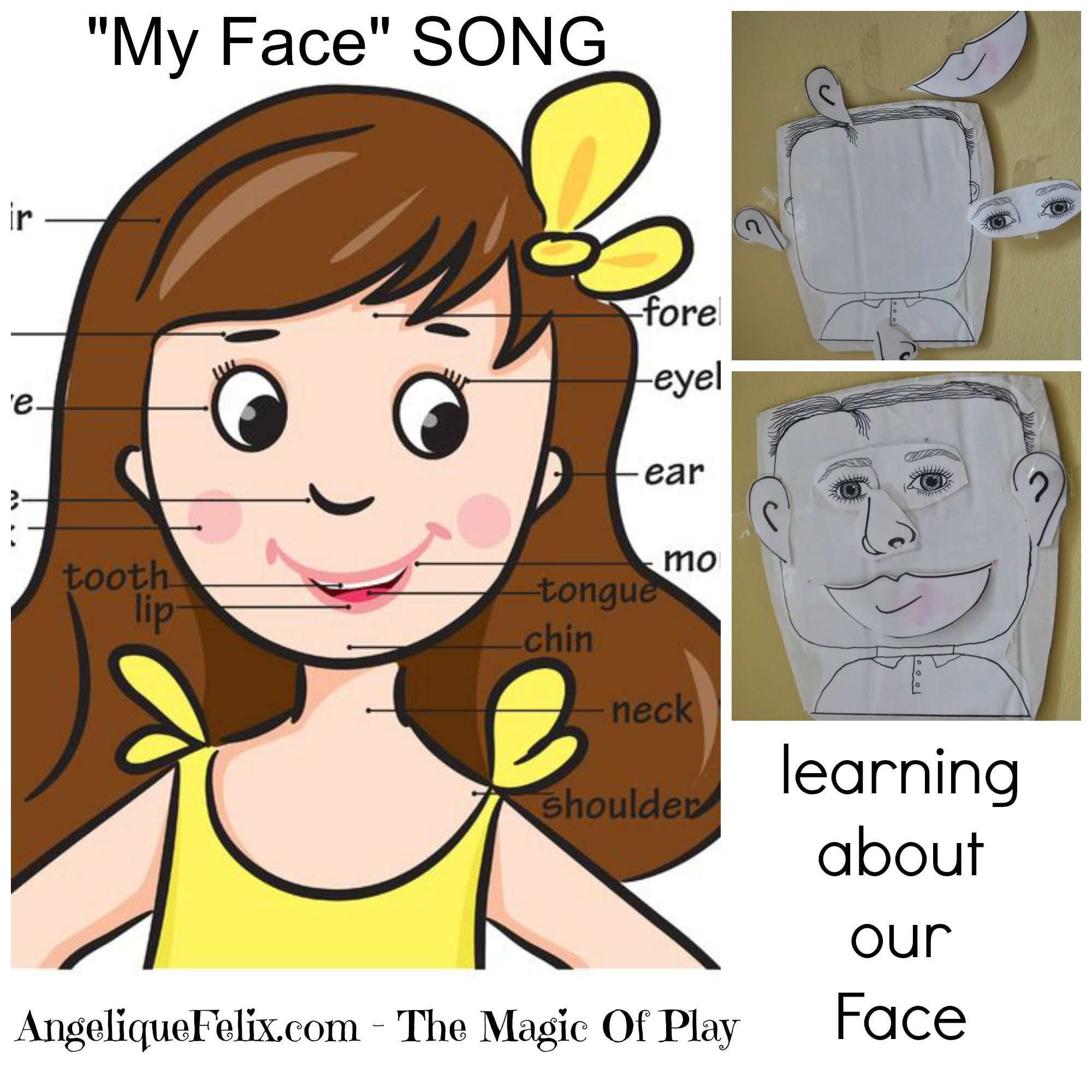 Super Simple Song About The Face Perfect For Preschool You Can Find Some Ideas For Activities