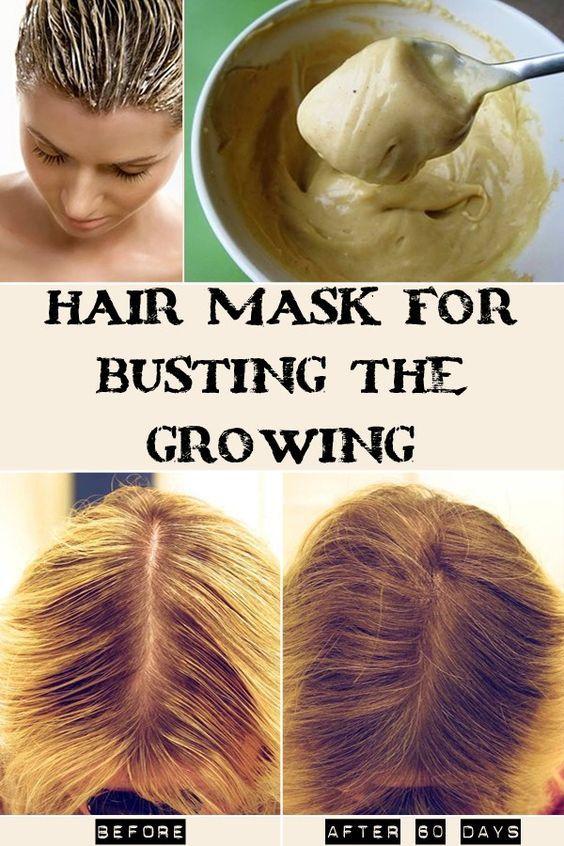 Natural Hair Mask To Boost Hair Growth Hair Pinterest Hair