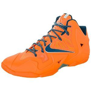 Amazon.com: Nike Lebron XI Atomic Orange Basketball Shoes Men's 11.5: Shoes
