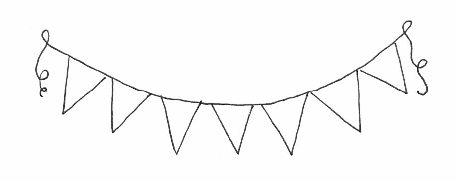 White Blank Banner Png Download Bunting Clipart Black And White Transparent Png Image For Free Downlo Clipart Black And White Clip Art Black And White Google