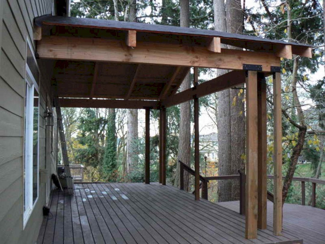 30+ simple back porch design for beautiful home back views