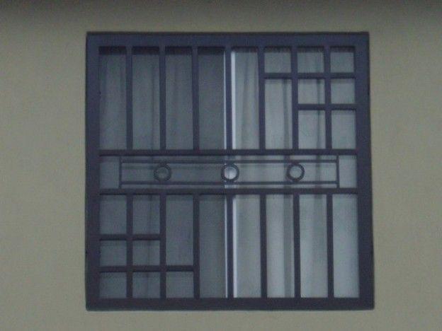 Imagen de rejas de ventanas de herrería moderna para casa ventanas