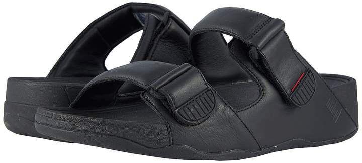 e9e6cc390b80 Gogh Moc Slide Men s Sandals  toe open Adjustable