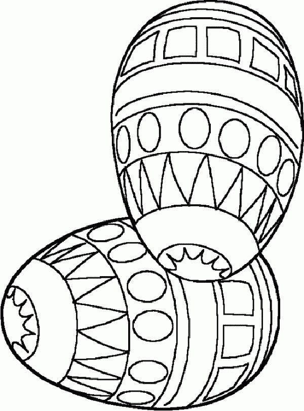 easter themed coloring pages - photo#40