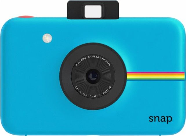 Polaroid - Snap 10.0-Megapixel Digital Camera - Blue - Front Zoom