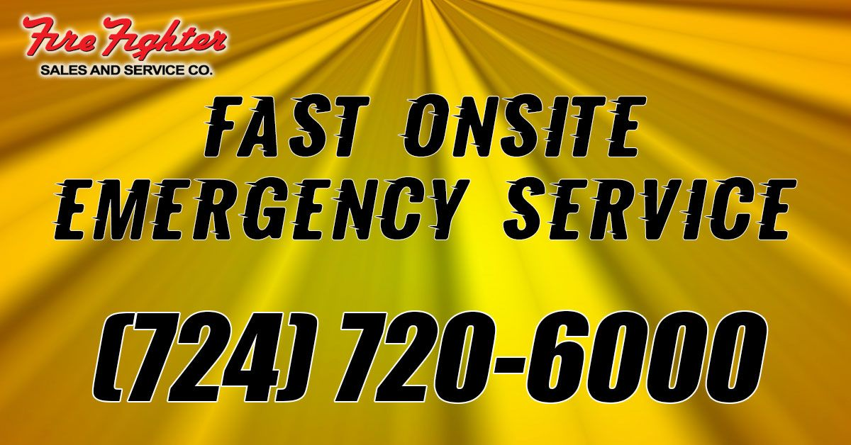 Fast onsite emergency service in 2020 fire protection