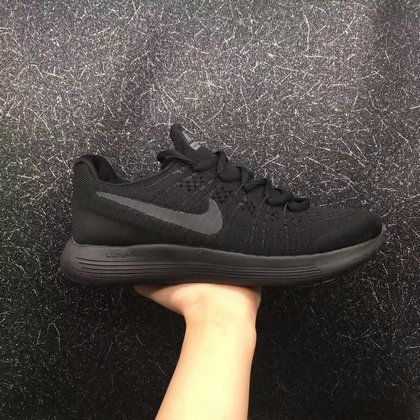 bbcf527678351 New And Cheap Unisex Nike LunarEpic Low Flyknit 2 Triple Black For ...