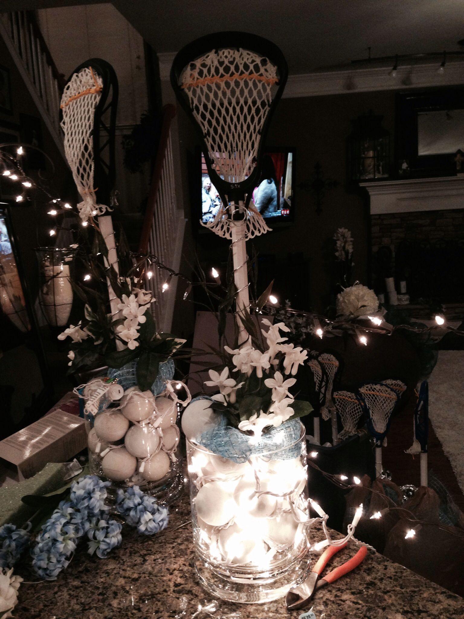 Lax banquet decoration sports banquet sports banquet