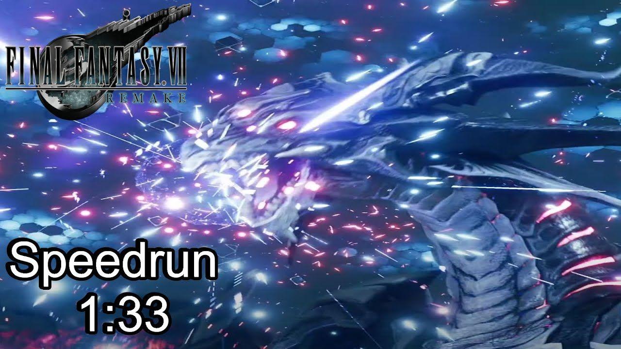 PS4 Final Fantasy VII Remake VS Top Secrets Speedrun 1:33 Pride & Joy Pr...