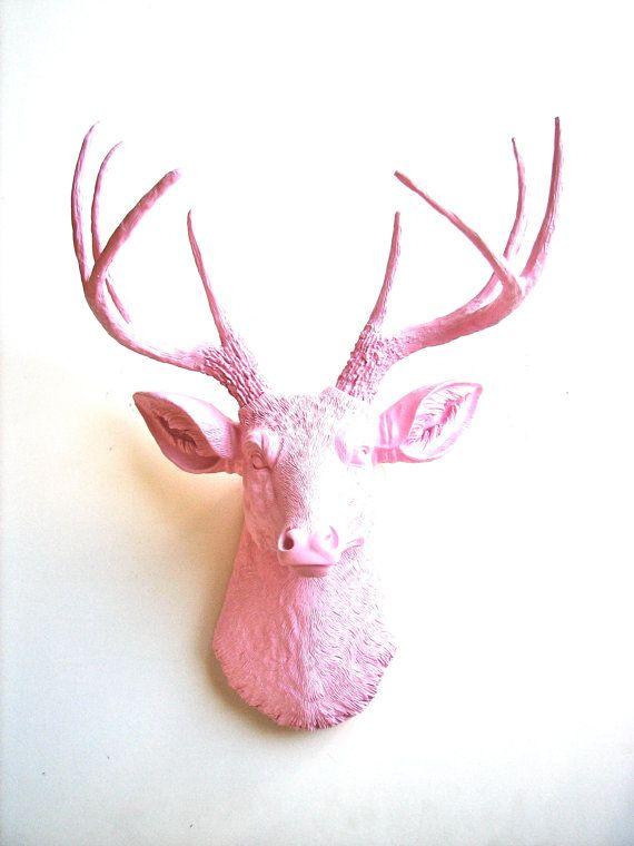 Faux Taxidermy Deer Head Wall hanging Deerman the by mahzerandvee ...