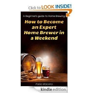 How to Become an Expert Home Brewer in a Weekend. http://www.amazon.com/dp/B00CNW47CK