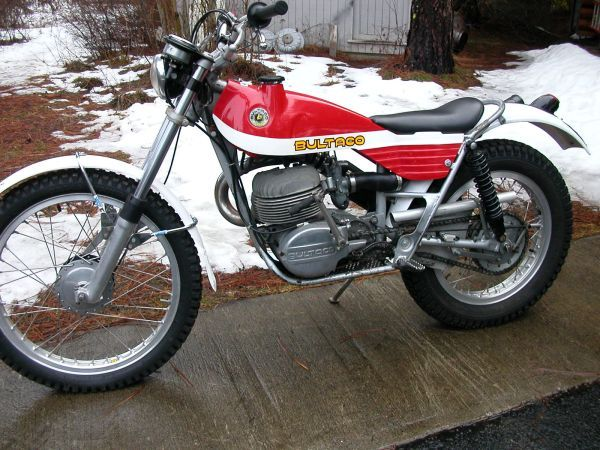 Pin By Johnnie Warner On April And May Classic Bikes Trial Bike Bultaco Motorcycles