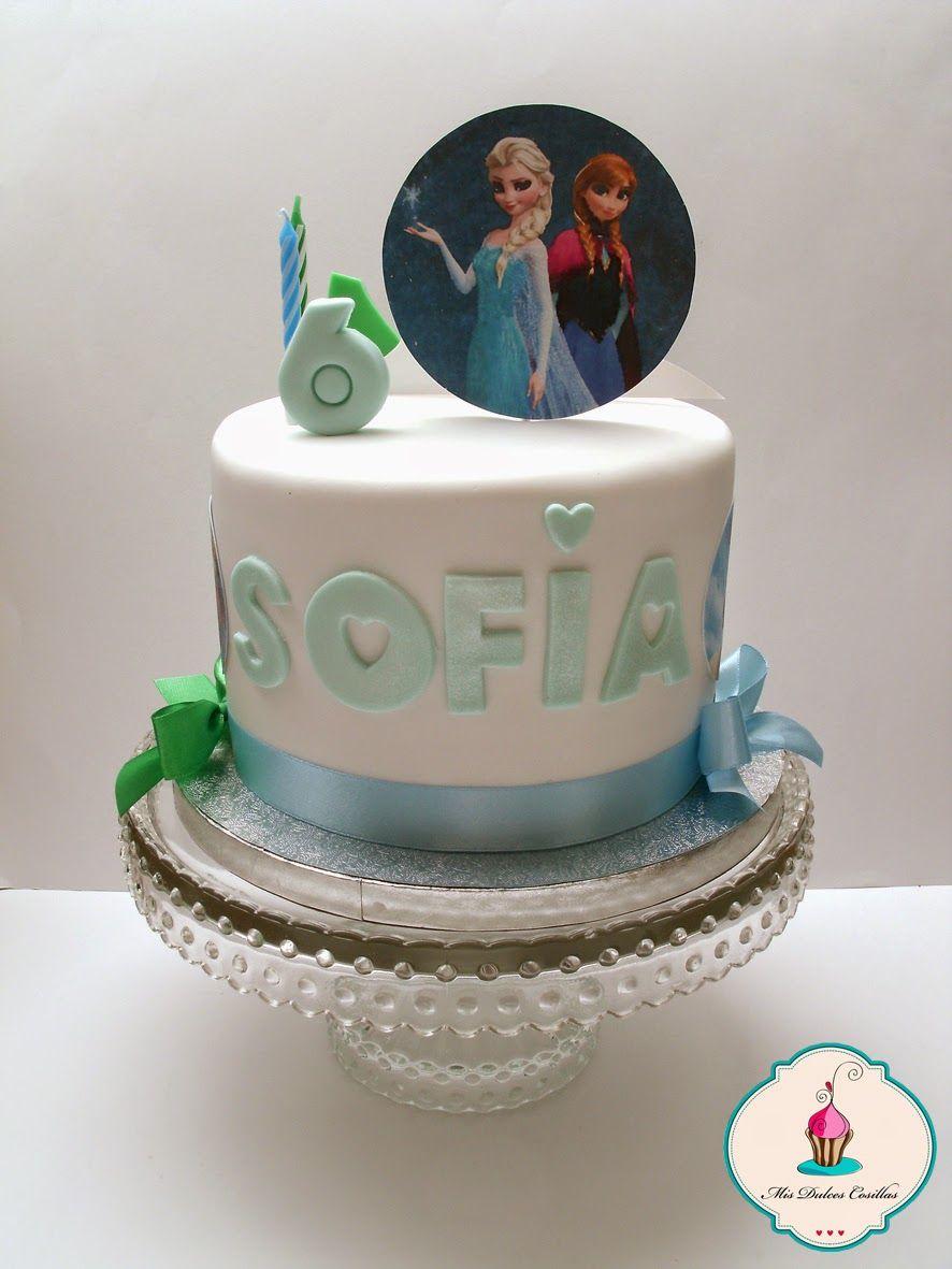 Tarta de cumpleaños para sofia