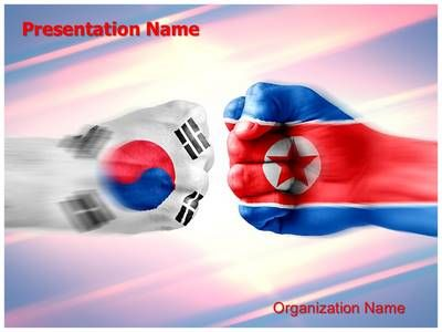 South korea north korea powerpoint template is one of the best south korea north korea powerpoint template is one of the best powerpoint templates by editabletemplates toneelgroepblik Gallery