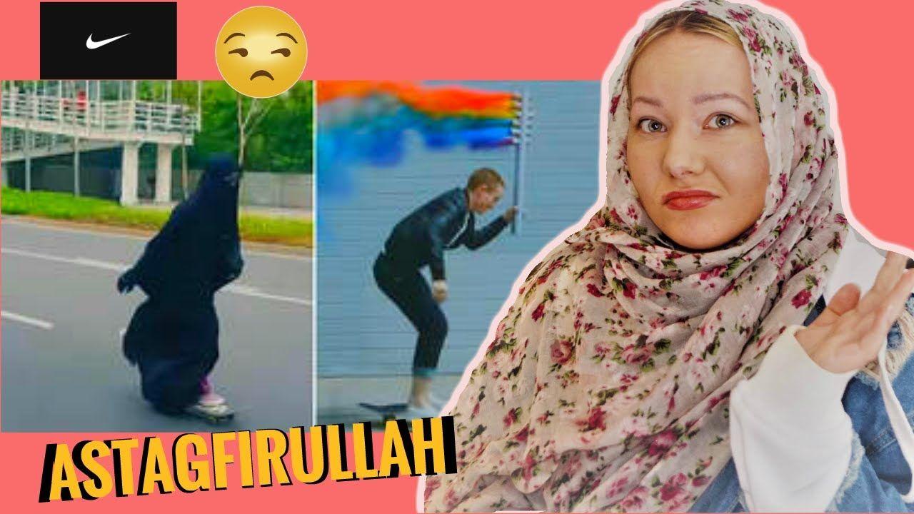 NIKE AD: GAY MUSLIM NIQABI | ANNA B | REACTION