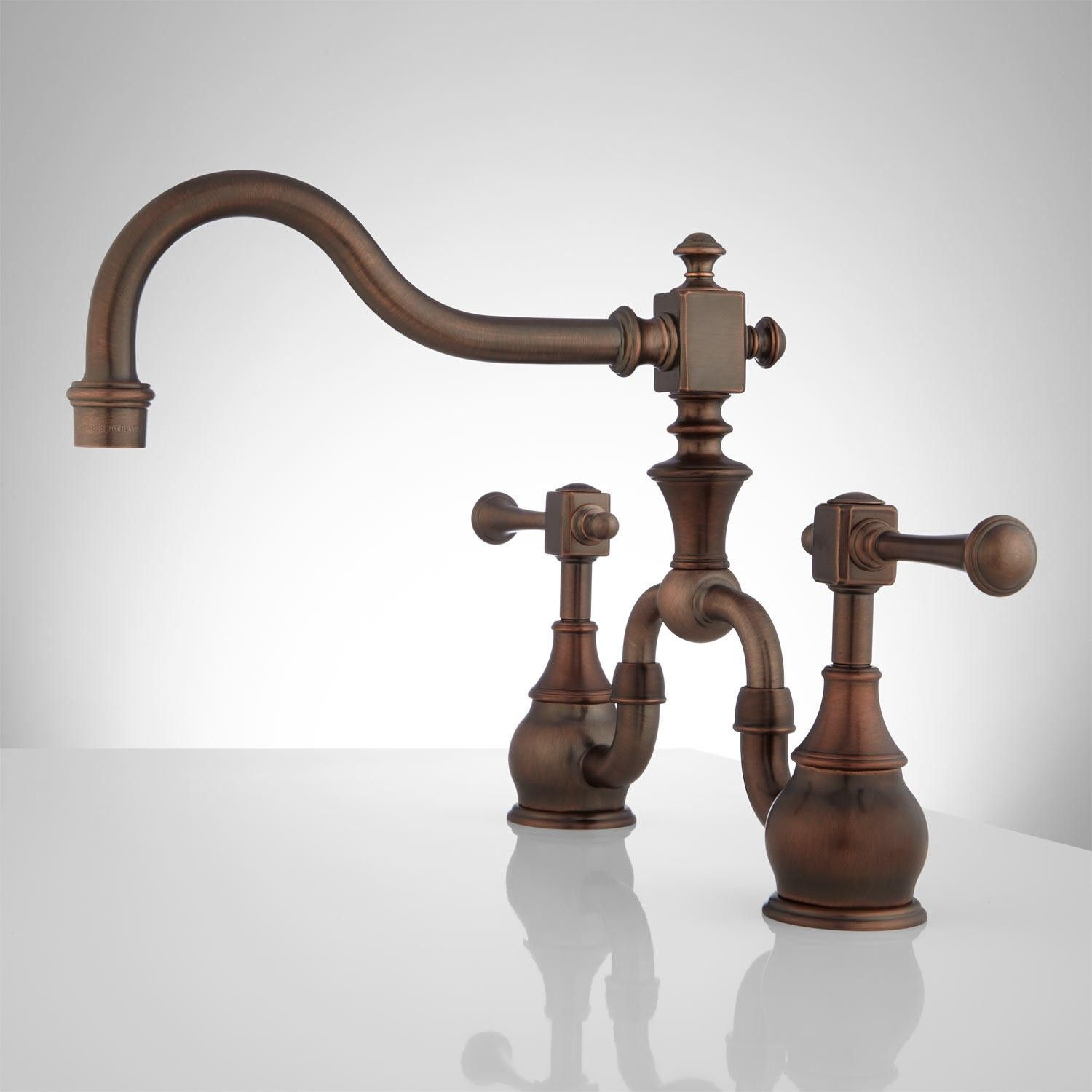 Find This Pin And More On Kitchen Ideas. The Vintage Bridge Kitchen Faucet  ...