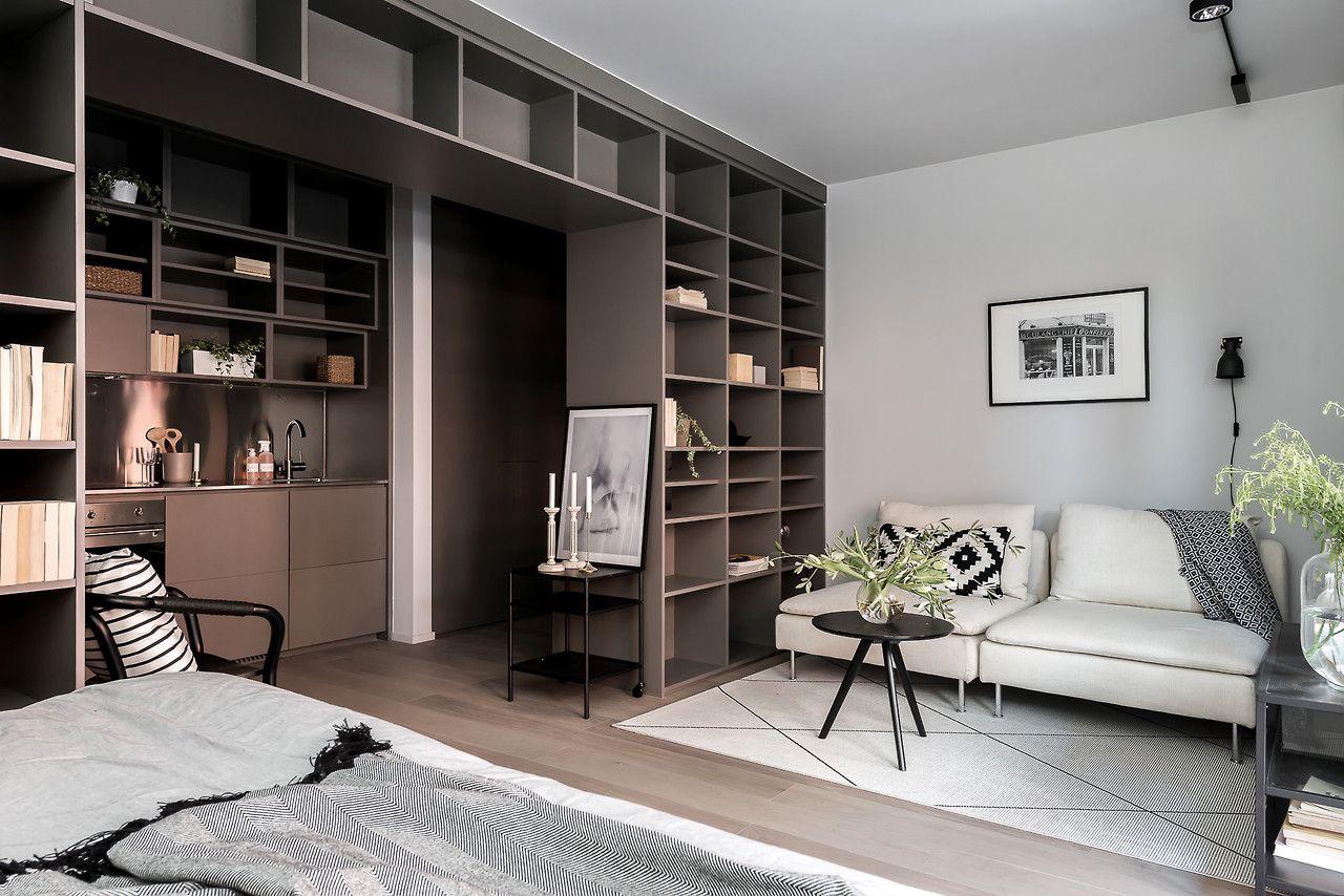 Studio apartment Follow Gravity Home: Blog - Instagram - Pinterest ...
