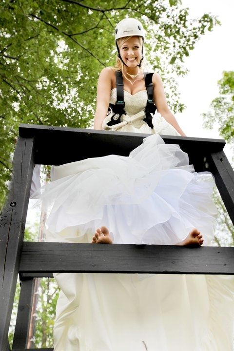 Nocatee Brides Can Even Take A Zip Down The Nocatee Zipline On Their Big Day So Great Full Wedding Wedding Styles Bride