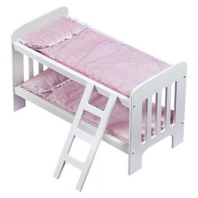 Badger Basket Doll Bunk Beds With Ladder Ideas Doll Bunk Beds