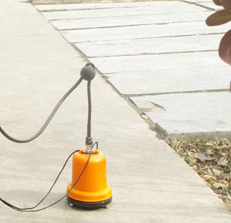 how to find a hot water leak underground