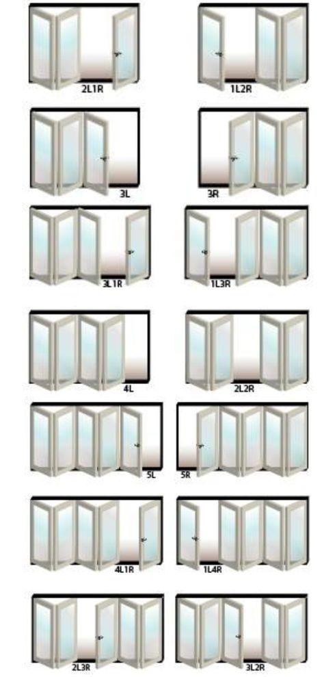Options! :) bifold exterior doors | Home / Doors / USA Folding Door ...