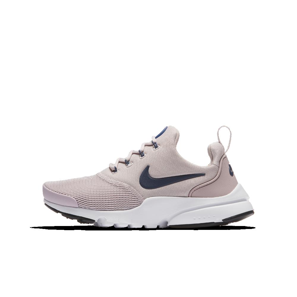 Nike Presto Fly Big Kids' Shoe Size 4Y (Pink) | Sneakers
