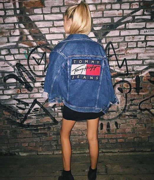 jacket tommy hilfiger denim