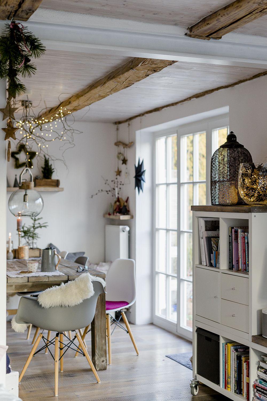 Weihnachtsdekoration und ein schnelles DIY Billige