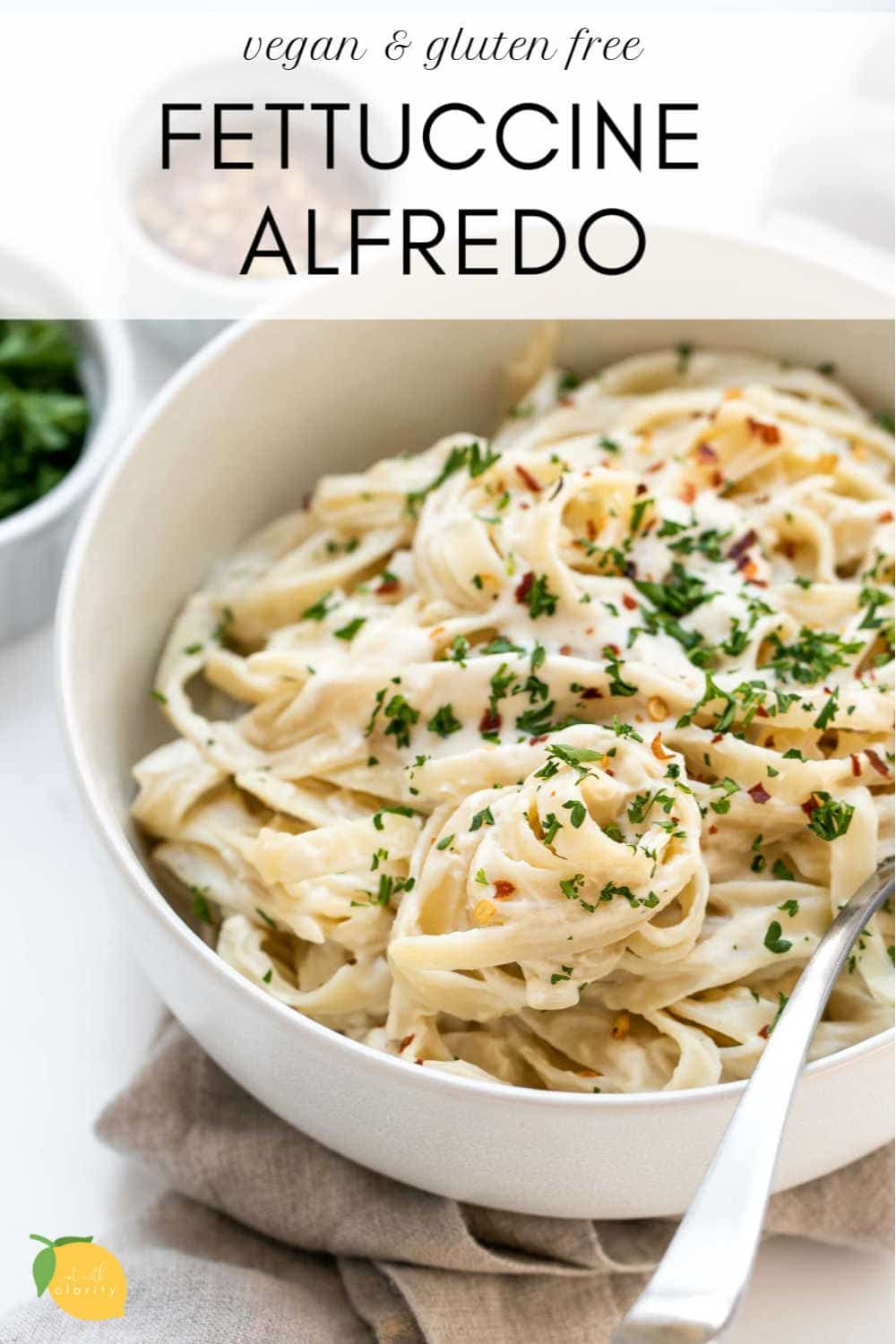 This Vegan Fettuccine Alfredo Is Your New Favorite Pasta Recipe Creamy Rich And Completely Dairy Fr In 2020 Favorite Pasta Recipes Vegan Pasta Recipes Alfredo Sauce