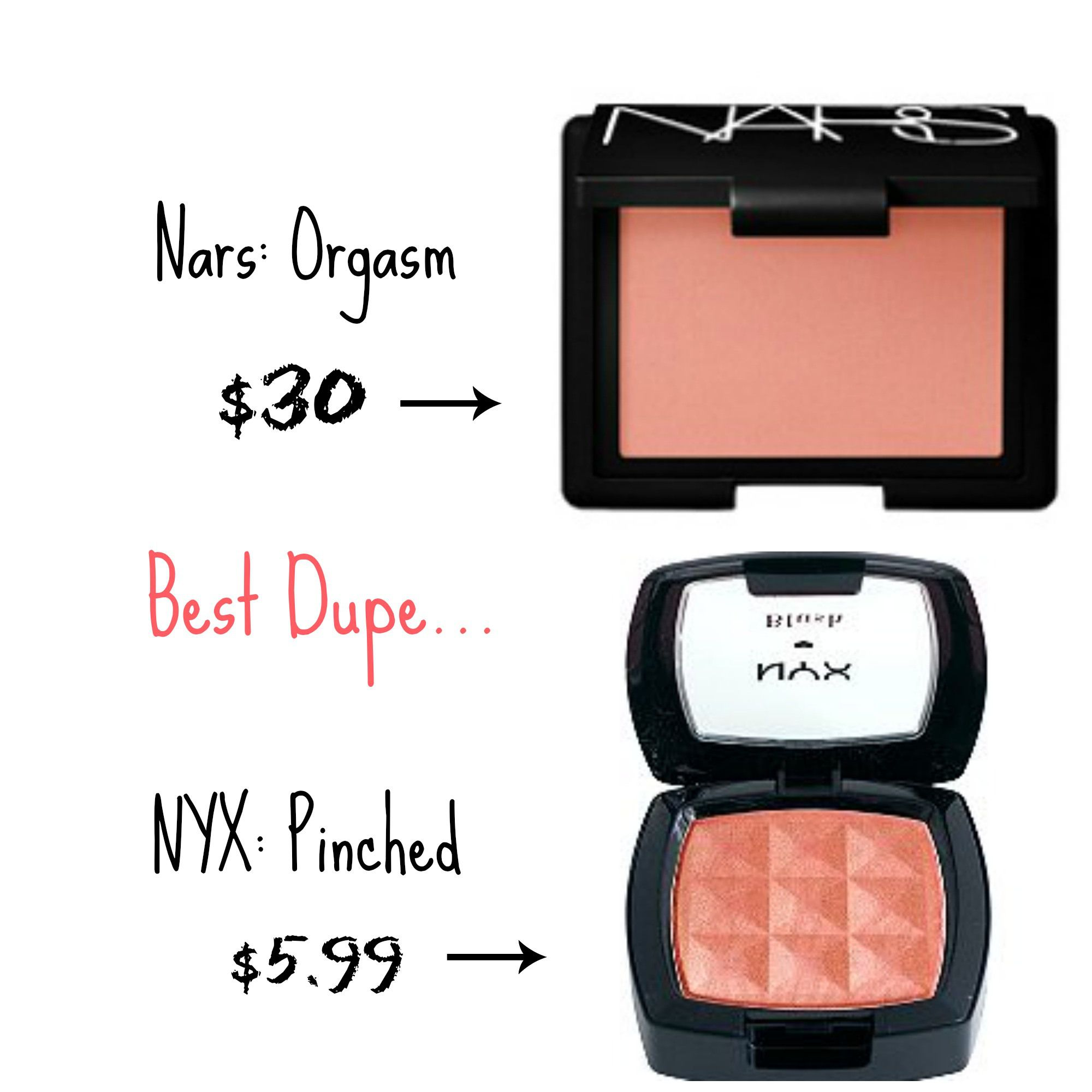 Top Drugstore makeup dupes Blushes Drugstore makeup