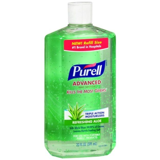 Purell Advanced Hand Sanitizer Refill Aloe 20 Fl Oz Aloe