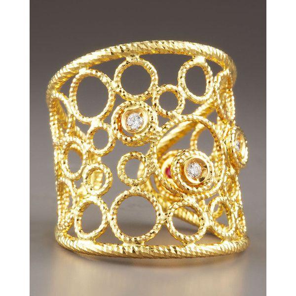 Roberto Coin Bollicine Diamond Ring
