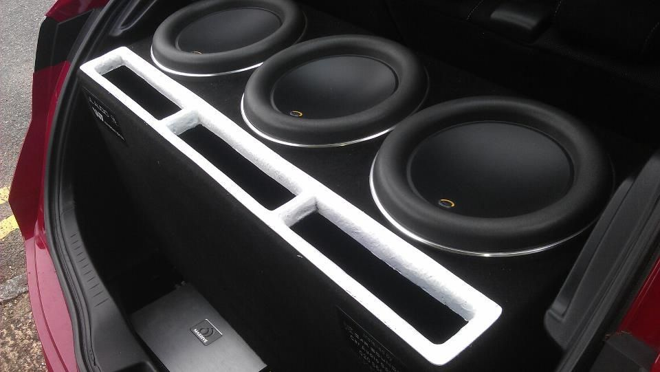 Custommade Box For 3 Jl Audio 12w7 Subs In A Honda Civic Car Rhpinterest: Jl Audio Honda At Gmaili.net
