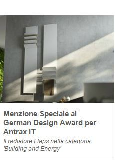 """Il #radiatore Flaps di Antrax pubblicato sulla newsletter """"Luce e Materia"""" di Archiproducts  Flaps #radiator by #Antrax has been published in Archiproducts newsletter called """"Light and Matter"""""""