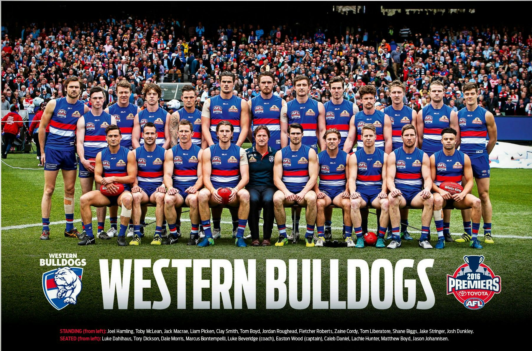Pin by Sluricain on Western Bulldogs (AFL/VFL/AFLW