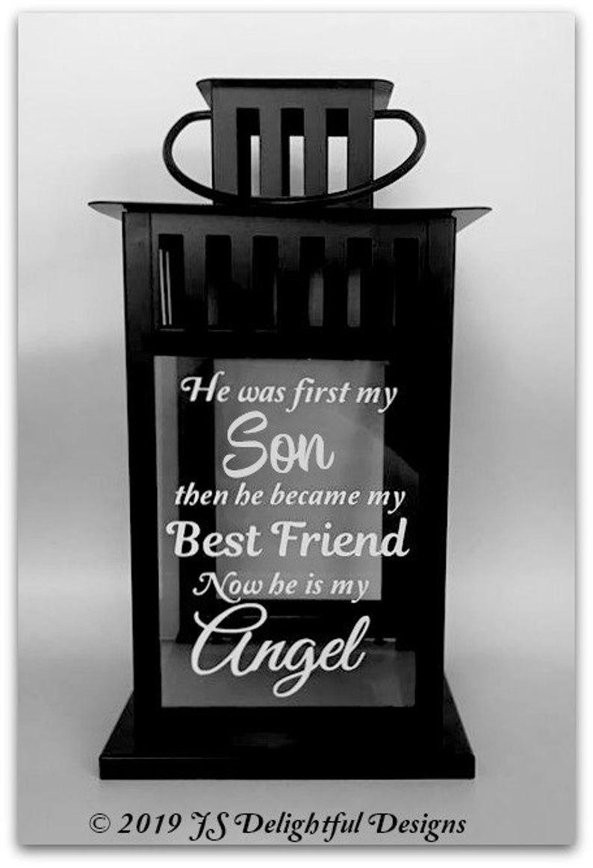 Loss of son sympathy gift loss of child memory lantern