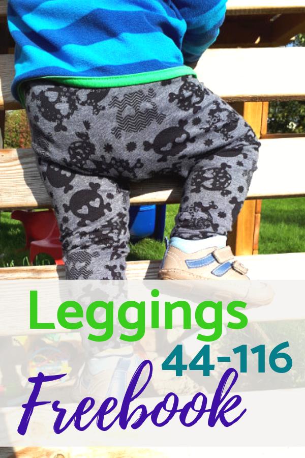 Freebook: Kostenloses Schnittmuster Leggings Luna | BABY