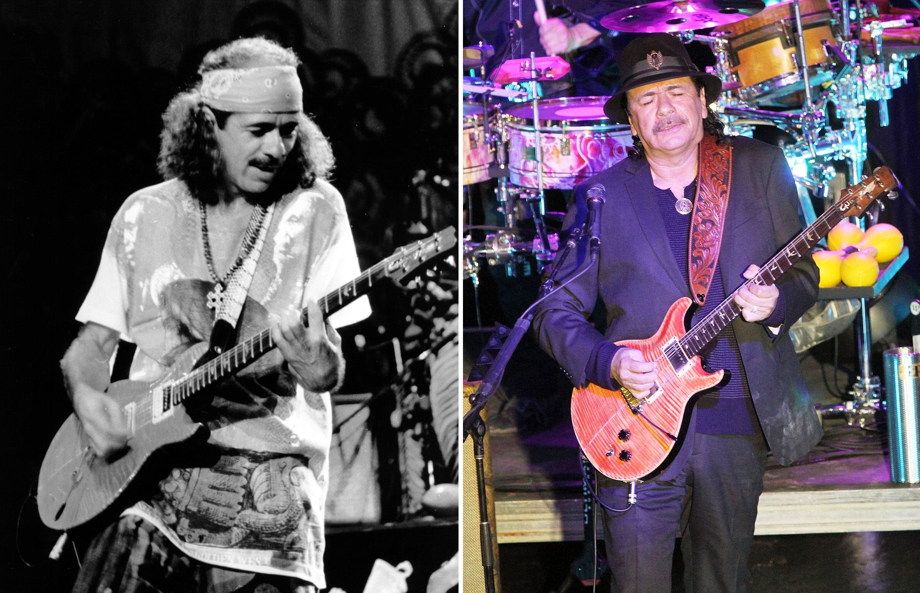 Carlos Santana 1970 2014Music Artists Of The 70s Then And Now