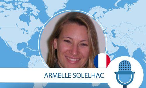 Interview d'Armelle Solelhac Qui évoque notamment la première chaîne de TV française (Montagne TV)  à avoir été présente sur Pinterest