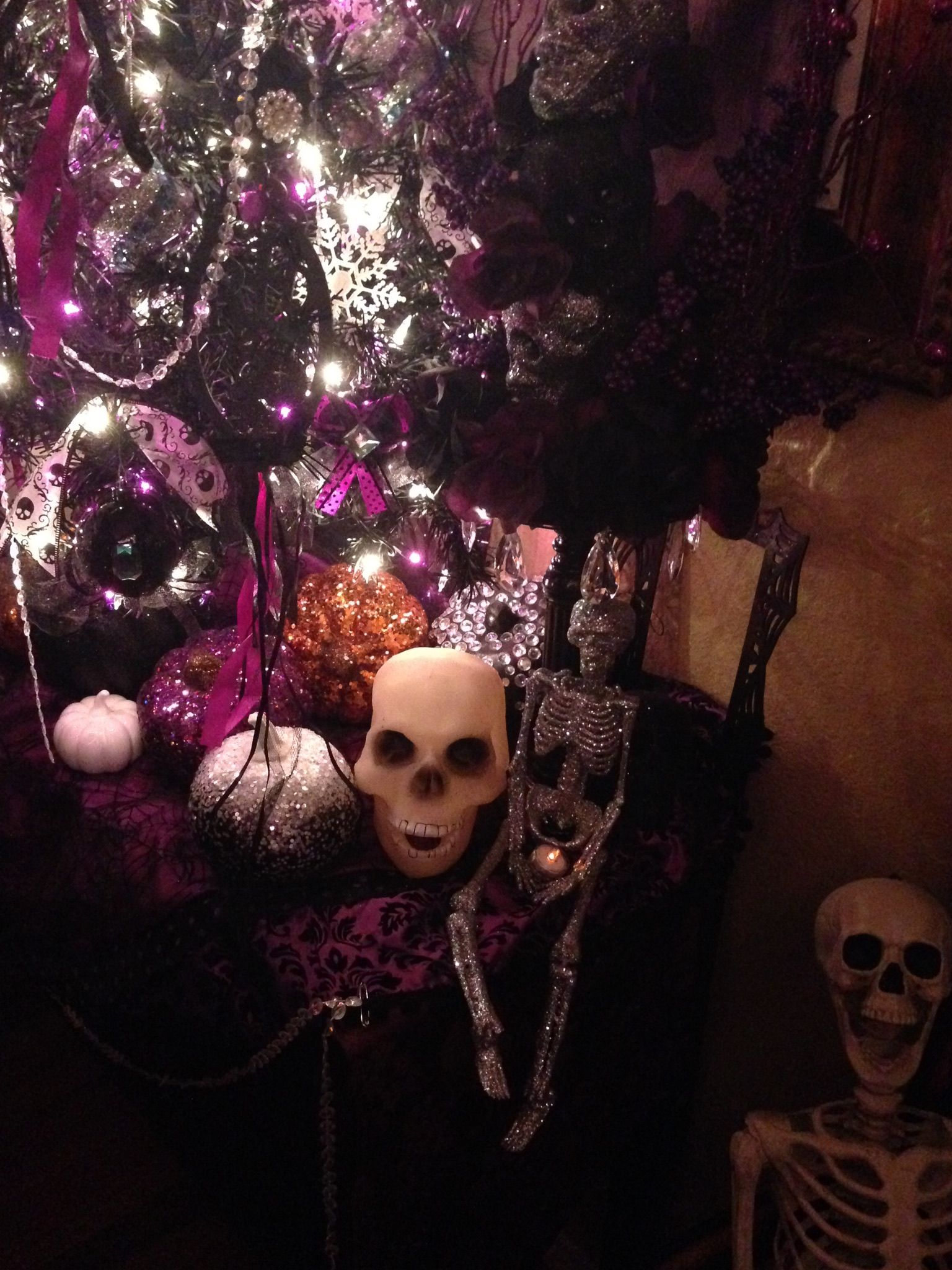 Halloween Tree Nightmare Before Christmas Inspired Tree..I used ...
