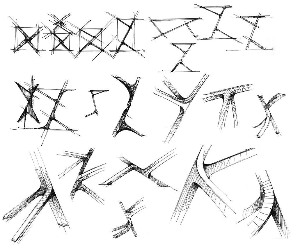 Industrial Design Sketches Furniture
