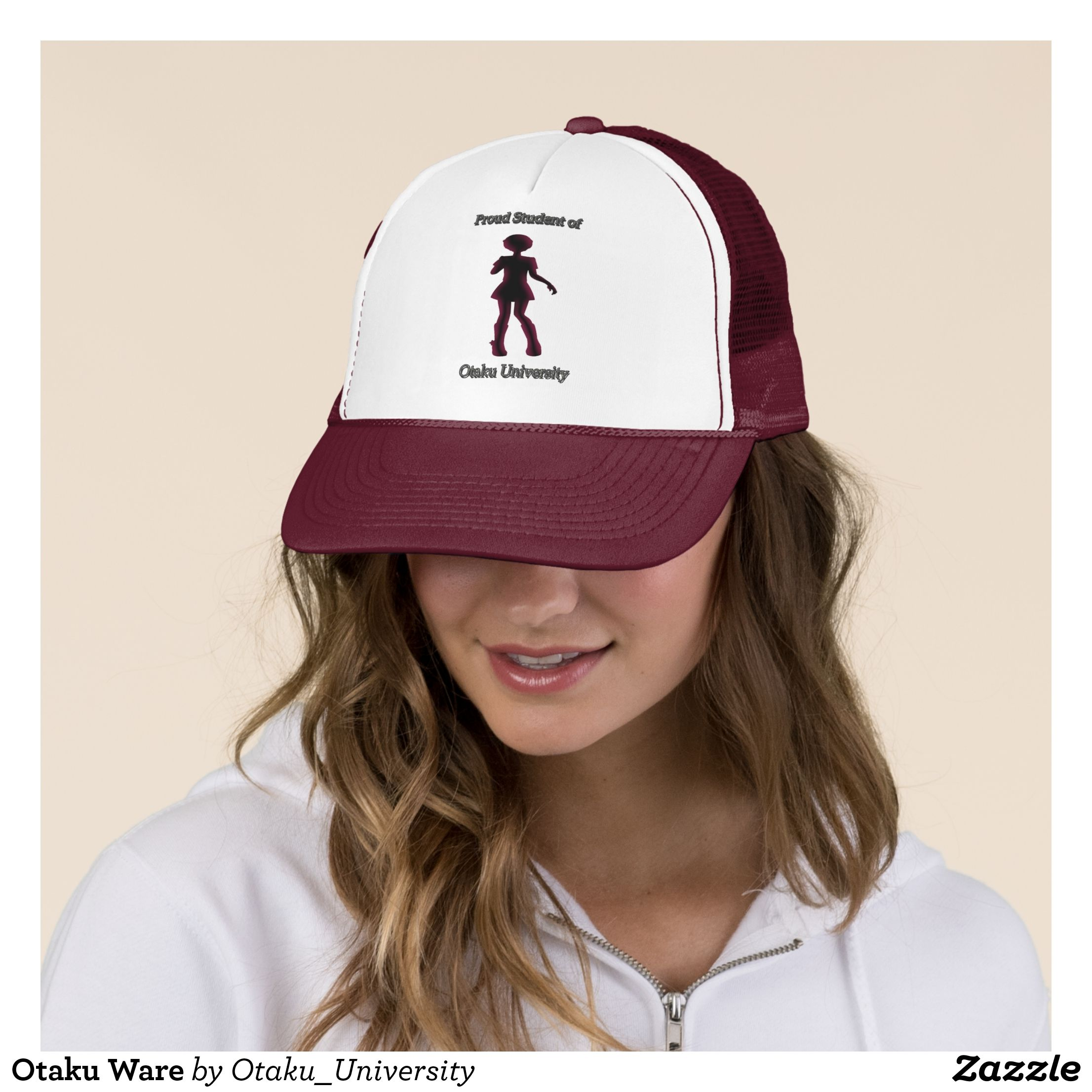03a2b2c6b1bf6 Otaku Ware Trucker Hat - Urban Hunter Fisher Farmer Redneck Hats By  Talented Fashion And Graphic