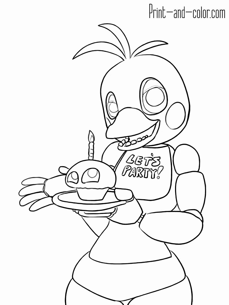 Children S Printable Coloring Pages Luxury Freddy Fazbear S Pizza