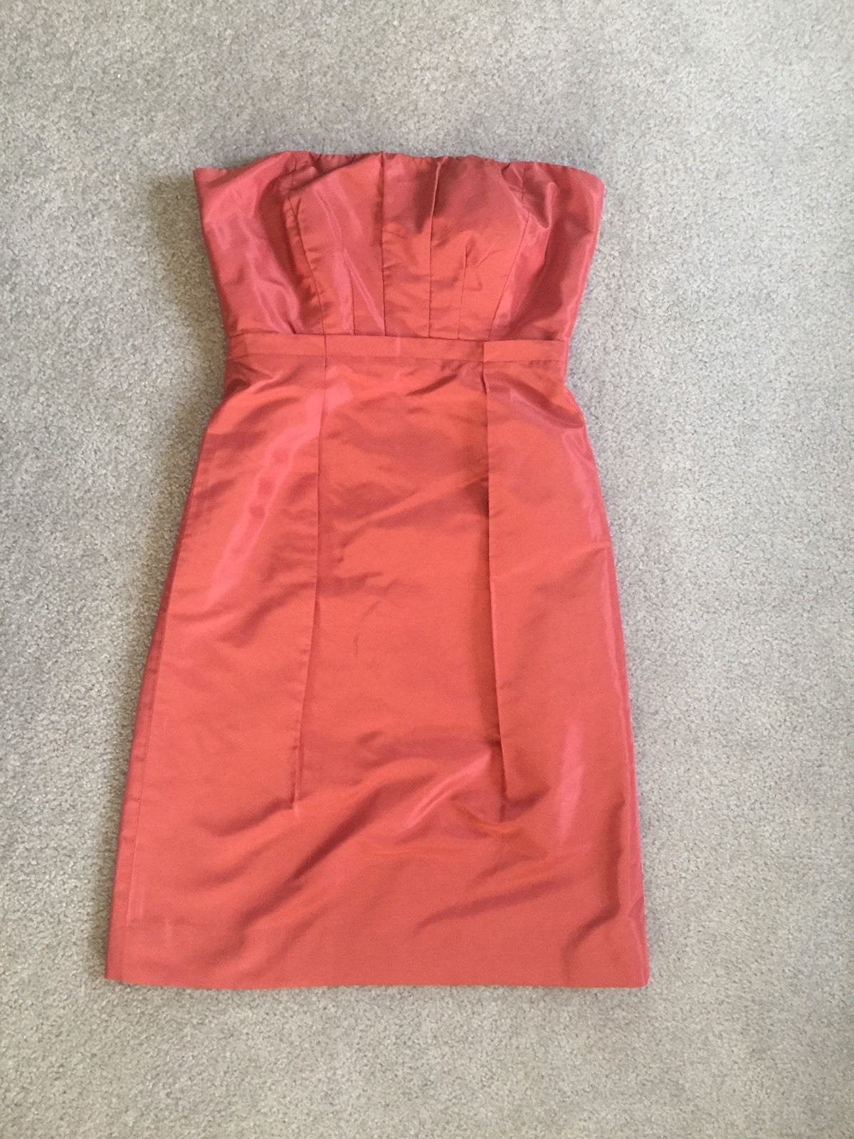 Dress for wedding guest spring  Nice Great J Crew Strapless Salmon Summer Spring Wedding Guest