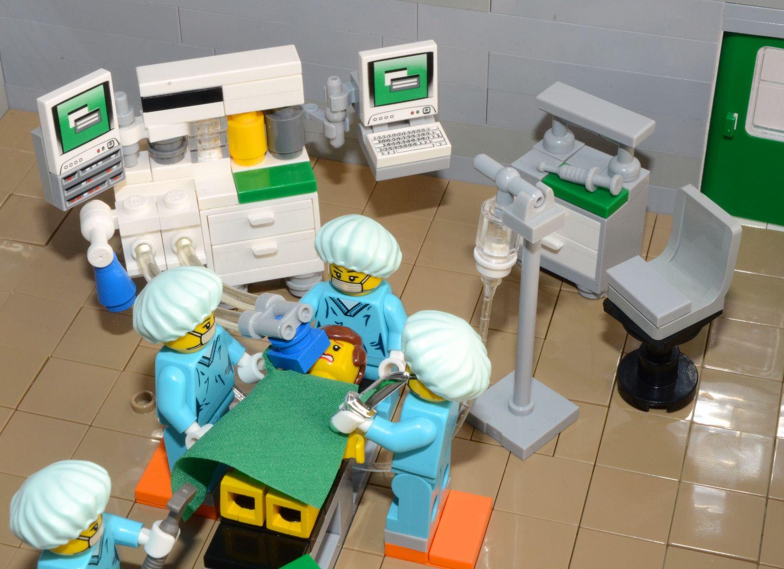 lego operating room moc 2 | lego | pinterest | lego