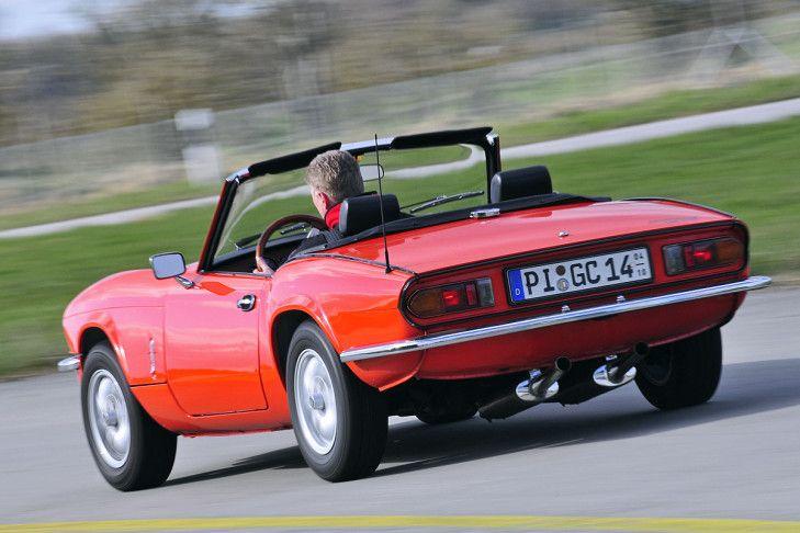 Klassische Cabrios für Einsteiger: Triumph Spitfire 1500 - Bilder - autobild.de