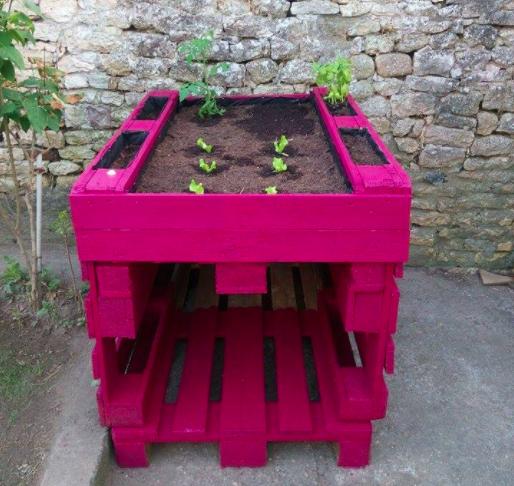 Fabriquer Un Potager Suspendu Avec Des Palettes Jardin Garden