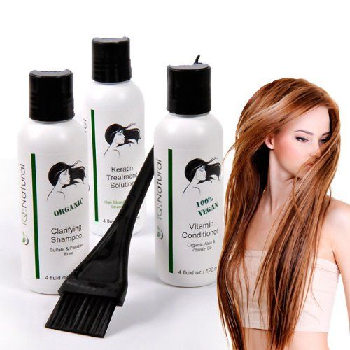 Iq Natural Keratin Hair Treatment