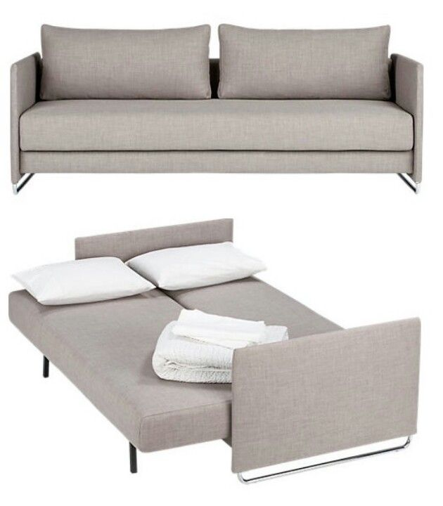Cb2 Tandem Sofa Sleeper Sofa Bed Smart Furniture Furniture