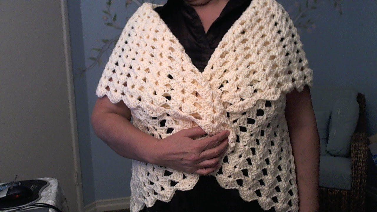 Easy Crochet Bolero All Sizes Child To Adult By Yolanda Soto Lopez